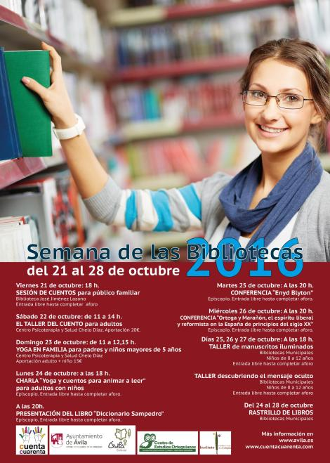 Cartel Bibliotecas